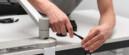 Installatie - montage - werkplekbekabeling - kabelmanagement