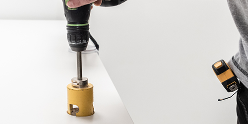 montage en installatie - werkplekbekabeling - werkplekverbetering