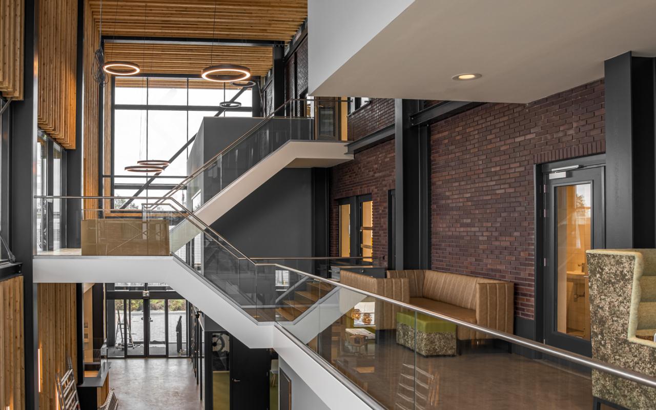Weststrate - Beveland opbouw web - gebouw - kantoor inrichting