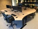Kabelmanagement - zit sta bureau - monitor arm - installatie en montage - dubbele monitor stand