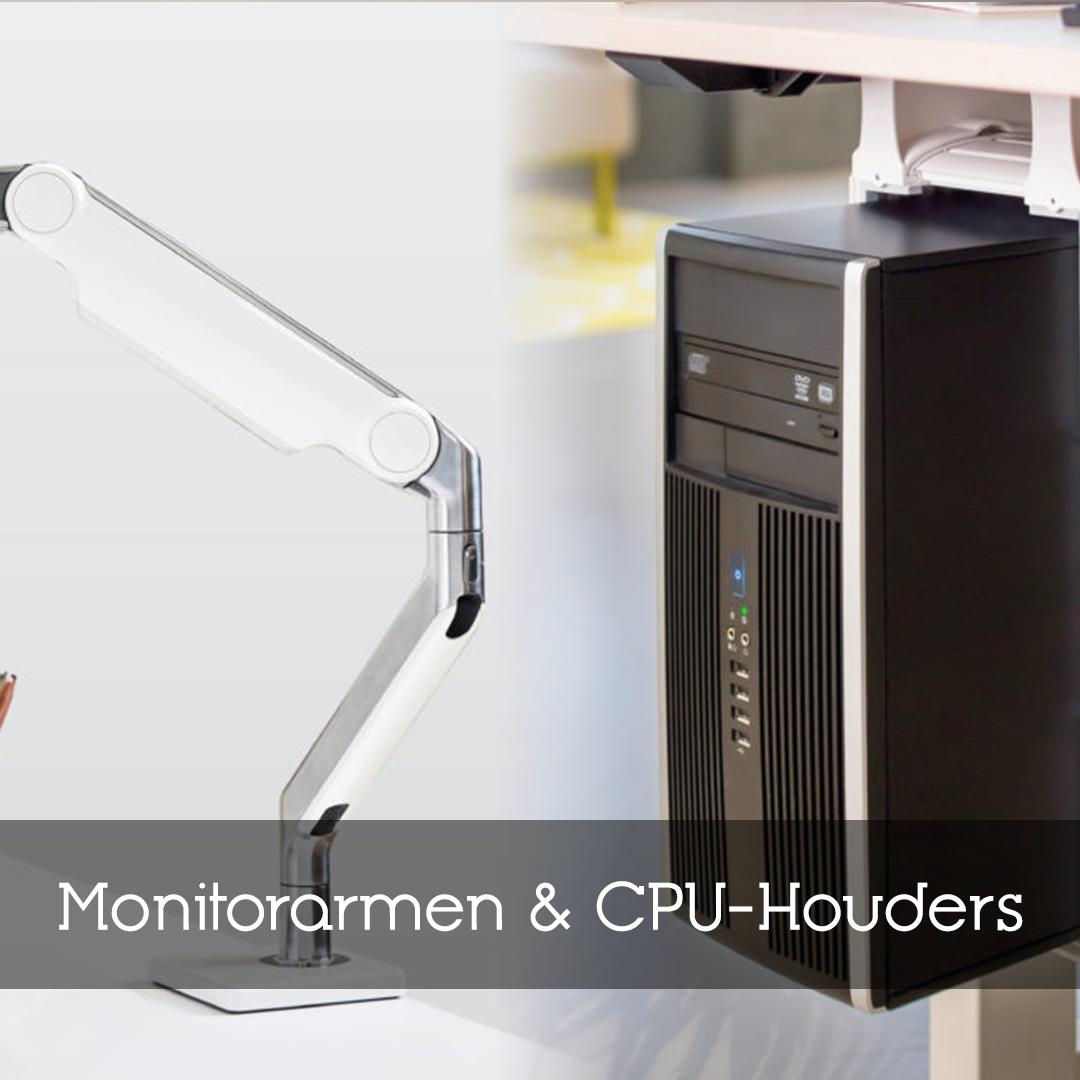 Monitorarmen & CPU Houders